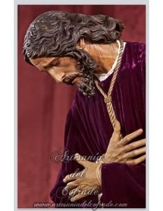 AZULEJO RECTANGULAR DE NUESTRO PADRE JESÚS DE LAS PENAS (SAN ROQUE)