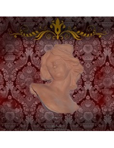 Cabeza o testa de angel de Belen napolitano 35 ctm