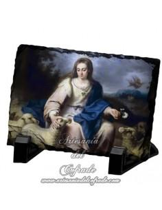 Pizarra rectangular de la Divina Pastora