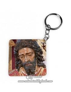 Llavero Cuadrado del Cristo Cautivo y Rescatado del Poligono de San Pablo de Sevilla