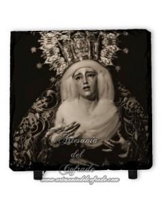Pizarra 10x10 de la Virgen de los Dolores y Misericordia de Sevilla