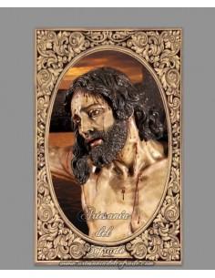 Azulejo rectangular del Cristo de la Sed (Sevilla)