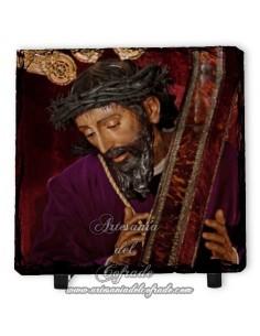 Pizarra cuadrada de Nuestro Padre Jesús Nazareno de la O de Sevilla