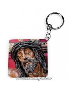 Llavero Cuadrado del del Santísimo Cristo de la Agonía de Malaga