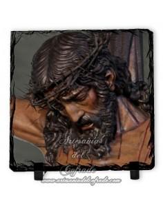 Pizarra cuadrada del Cristo de las Almas de los Javieres