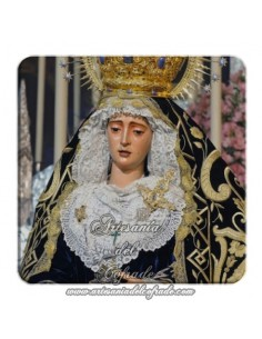 Imán cuadrado de plastico  de la Virgen del Valle de Sevilla
