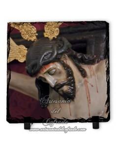 Pizarra cuadrada del Cristo de la Agonia de Córdoba