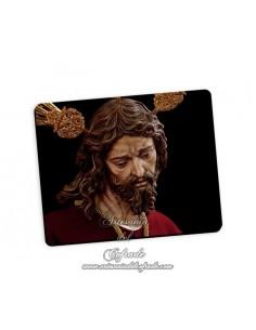 Bonita alfombra de ratón del Cristo del Silencio de Córdoba