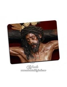 Bonita alfombra de ratón del Cristo de Montserrat de Sevilla