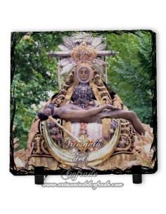 Pizarra cuadrada de la Virgen de la Virgen de las Angustias de Granada