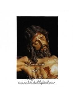 Lienzo con bastidor 20x30 del Cristo de la Buena Muerte (Estudiantes,Sevilla)