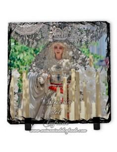 Pizarra cuadrada de la Virgen de la Paz de Sevilla