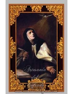 Precioso azulejo de Santa Teresa de Jesús