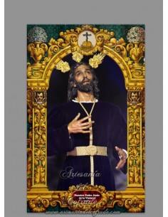 Azulejo de Nuestro Padre Jesús de la Victoria (Hermandad de la Paz,Sevilla)