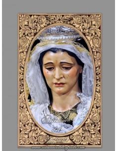 Se vende cerámica de la Virgen de las Tristezas de Sevilla - Tienda de Semana Santa