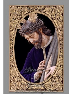 Se vende baldosa de cerámica de Jesús del Gran Poder de San Fernando