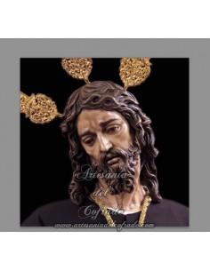 Azulejo cuadrado del Cristo del Silencio de Cordoba