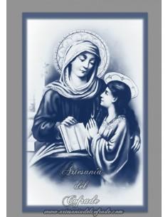 Se vende esta cerámica rectangular de la Virgen Maria con el Niño Jesus - Tienda Online