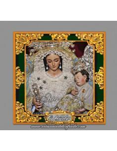 Se vende baldosa de cerámica de la Virgen del Rosario de la hermandad de la Macarena de Sevilla