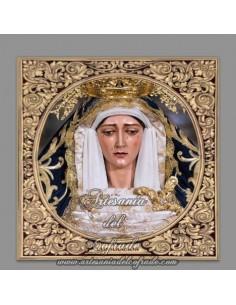 Azulejo cuadrado de la Virgen de la Consolación (Sevilla)