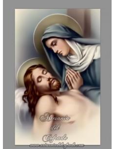 Se vende azulejo rectangular de la Virgen Maria y Jesucristo - Tienda de Articulos Religiosos