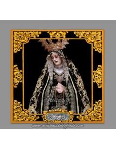 En venta esta cerámica de la Virgen de los Dolores de Cádiz (Servitas) - Tienda de Semana Santa