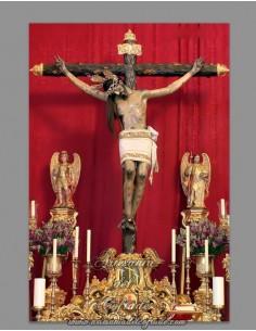 Azulejo rectangular del Santísimo Cristo de Gracia de Cordoba