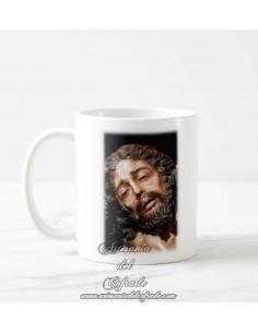 Taza con fotografia del Cristo de la Caridad de Sevilla
