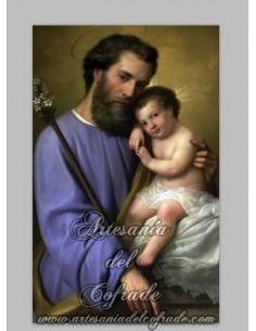 En venta precioso Azulejo de San José y el niño Jesús