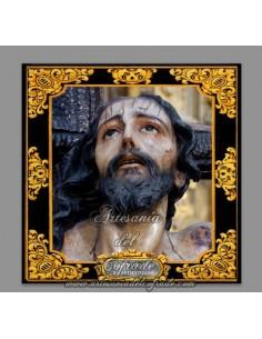 Azulejo cuadrado del Cristo de las Misericordias de Sevilla