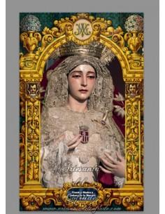 Se vende esta cerámica de la virgen de la Merced de Sevilla - Tienda de Semana Santa