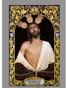 Azulejo rectangular de Jesus Despojado de Sevilla