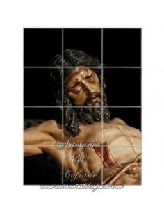 Retablo de 12 azulejos del Cristo de la Buena Muerte (Estudiantes-Sevilla)