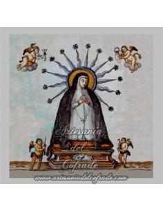 Azulejo  Virgen de los Dolores