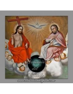 Azulejo cuadrado de la Santisima Trinidad