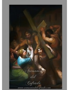 Azulejo rectangular de Jesús Caido