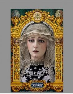 Se vende baldosa de cerámica de la Virgen de la Soledad de Cádiz