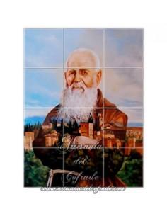 Retablo de 12 azulejos de Fray Leopoldo de Alpandeire