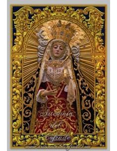 Baldosa de céramica de la virgen de los Dolores de Cordoba