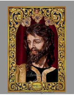 En venta cerámica del Cristo de la Sagrada Cena de Jerez -Tienda Cofrade-