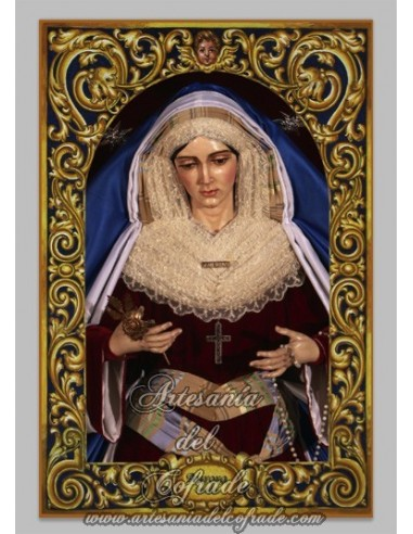 Se vende azulejo de la Virgen de la Aurora de Sevilla - Tienda Cofrade