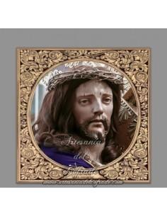 Azulejo cuadrado de Jesús Nazareno de Priego (Cordoba)