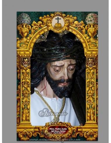 Se vende baldosa de cerámica con Jesús del Gran Poder de San Fernando