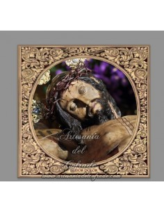 Azulejo cuadrado del Santísimo Cristo del Mayor Dolor (La Bofetá)