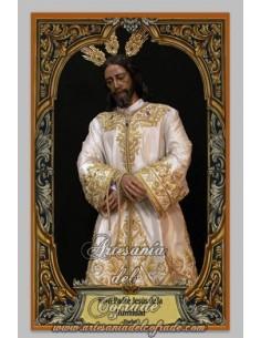 Azulejo  rectangular de Ntro. Padre Jesús de la Humildad de Huelva