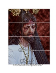 Se vende este retablo cerámico del Cristo de la Salud de Jerez de la Frontera (San Rafael)