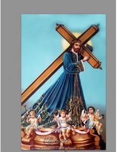 Azulejo rectangular de Jesús Nazareno