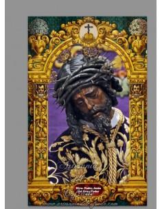 Se vende este azulejo cerámico con Jesús del Gran Poder de Sevilla