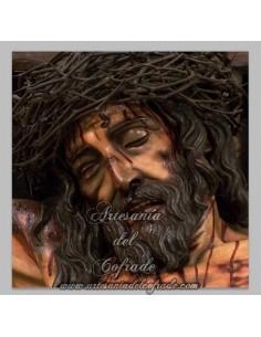 Azulejo cuadrado del Cristo de la Universidad de Cordoba