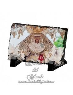 Pizarra rectangular de la Virgen de la Esperanza de Triana de Sevilla